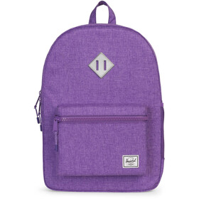 Herschel Heritage XL Backpack Youth Deep Lavender/Silver Reflective